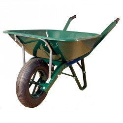 Brouette macon 90 litres roue gonflable