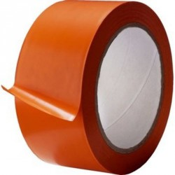 Ruban orange de façadier 50MM*33M