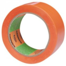Ruban orange BARNIER 6095 75mm x 33 mètres