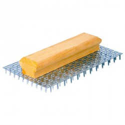 Taloche gratton grandes dents 15 mm / 240 pointes 23 x 14 cm