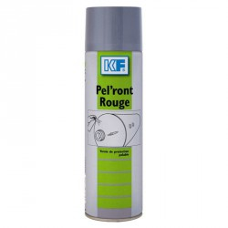 Carton 12 Vernis de protection pelable rouge PEL'RONT ROUGE