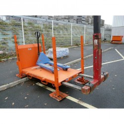 Chevalet transport type ch charge 800 kg appui vertical - peint
