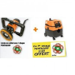 Lot Surfaceuse SG 125 + Aspirateur AC 1625