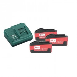 Pack 3 Batteries/Chargeur 4.0 Ah