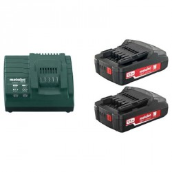 Pack 2 Batteries/Chargeur 1.5 Ah