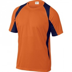 Tee-shirt LEISURE, Orange/Bleu - BALI
