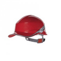 Casque de chantier, Rouge - BASEBALL DIAMOND V