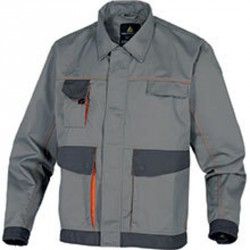 Veste de travail D-MACH, Gris/Orange - DMVES