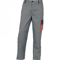 Pantalon de travail D-MACH, Gris/Orange - DMPAN