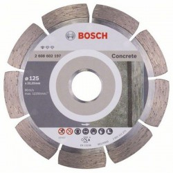 Disque à tronçonner diamanté Standard for Concrete, Ø125 mm, Ale. 22,23 mm