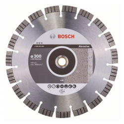 Disque à tronçonner diamanté Best for Abrasive, Ø300 mm, Ale. 20/25,4 mm