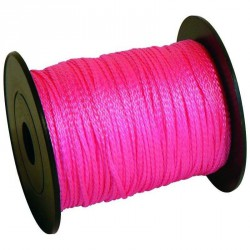 Cordeau fluo rose version 100m fil 1.5mm