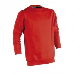 Pull encolure ronde - Vidar - Rouge