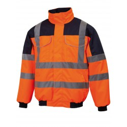 Blouson type aviateur, Orange - BLAVIO