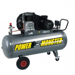 Compresseur professionnel 3cv 200 litres - 230 volts - mecafer power monster