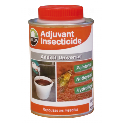 Additif Universel - Adjuvant Insecticide - 250 ml - Missible dans Peintures / Fongicides / Hydrofuges / Nettoyants...