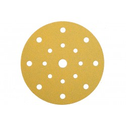Disques Gold auto agrippants Ø 150 mm - 17 trous