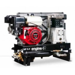 Compresseur thermique sur chassis - 3.5 CV - 16,9 m3/h - ENGINEAIR 4 ESSENCE