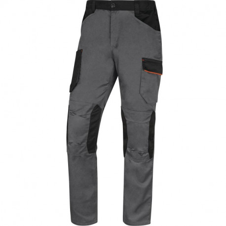 Pantalon de travail MACH 2, Gris/Orange - M2PA3