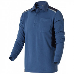 Polo Rugby Maille Outforce - Bleu Marine