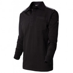Polo Rugby Maille Outforce - Noir & Charcoal